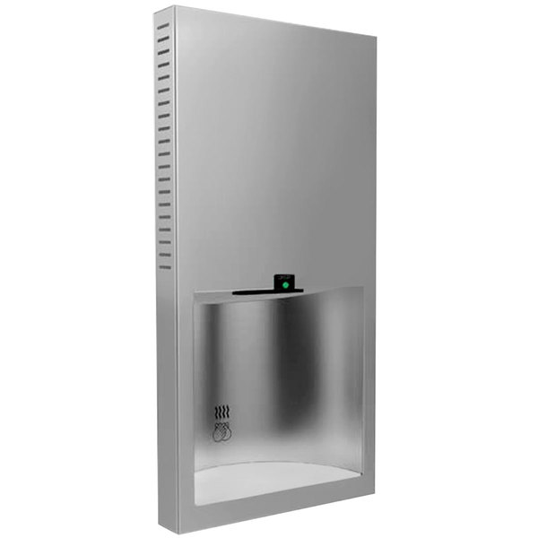 Bobrick B-3725 TrimLine Series No Touch Recessed Hand Dryer - 115V, 1000W