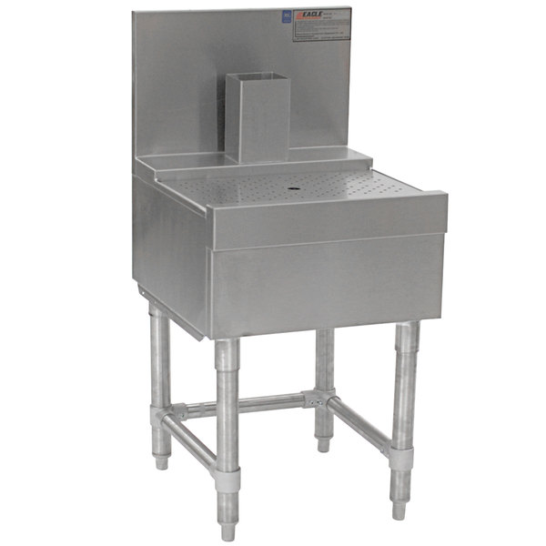 """Eagle Group BD18-19 Spec-Bar 18"""" x 19"""" Stainless Steel Beer Drainer Main Image 1"""