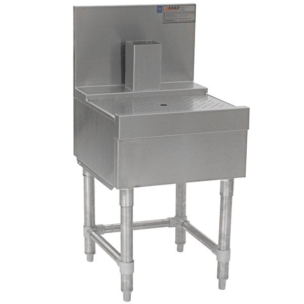 """Eagle Group BD24-19 Spec-Bar 24"""" x 19"""" Stainless Steel Beer Drainer"""