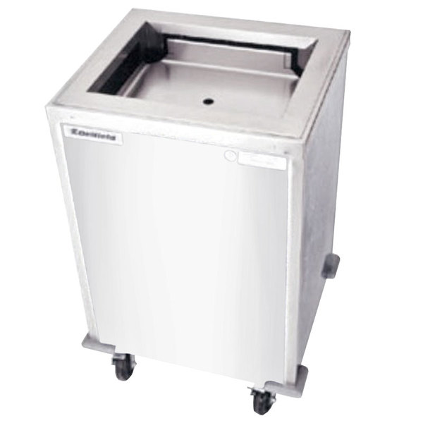 "Delfield T-1221H Heated Enclosed Mobile Tray Dispenser for 12"" x 21"" Trays"