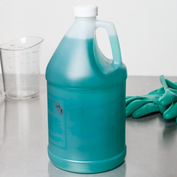 Manitowoc 94-0580-3 1 Gallon Ice Machine Cleaner - 4/Case