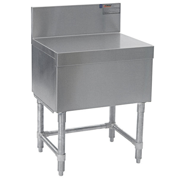 "Eagle Group FB12-19 Spec-Bar 12"" x 19"" Stainless Steel Filler Board"