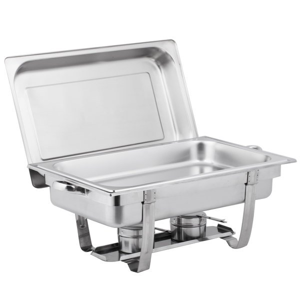 PACK OF EIGHT HALF SIZE FOOD PANS FOR CHAFING DISHES **FREE NEXT DAY DELIVERY**
