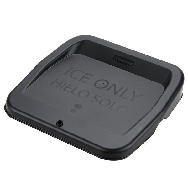 Rubbermaid FG9F7300BLA ProServe Ice Tote Lid for FG9F5300TBLUE and FG9F5400TBLUE Ice Totes Main Image 1