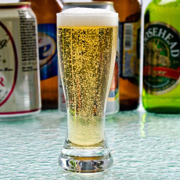 Libbey 245 2.5 oz. Shooter Glass / Mini Pilsner Beer Tasting Glass - 24/Case Main Image 5
