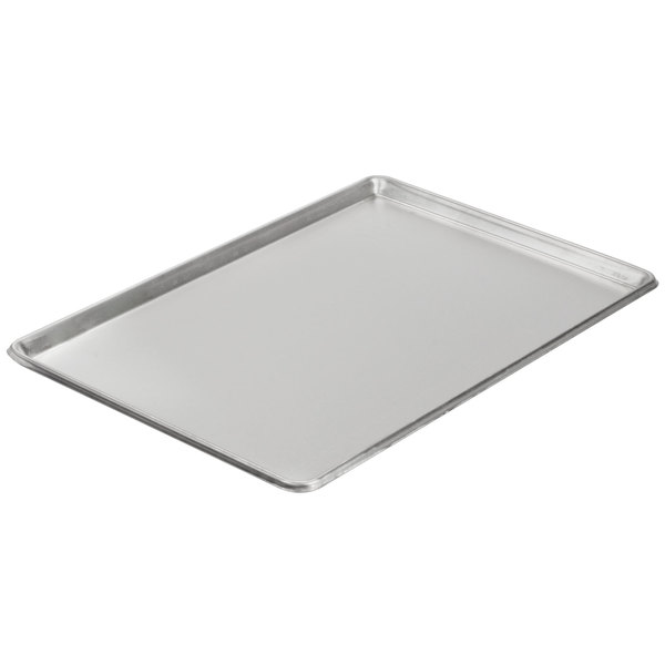 Baker S Mark Full Size Nsf 20 Gauge 18 X 26 Open Bead Rim Stainless Steel Bun Pan Sheet Pan