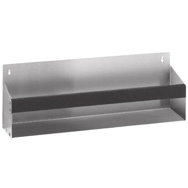 "Eagle Group KSR-12 Spec-Bar 12"" Stainless Steel Single Tier Removable Keyhole Speed Rail"