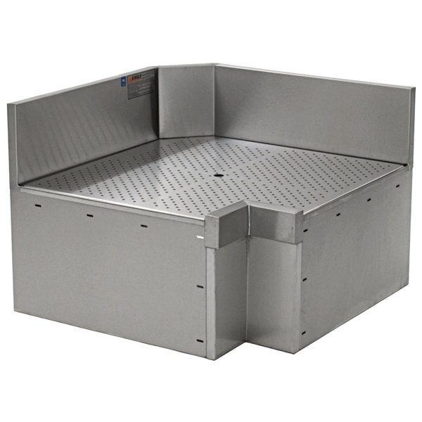 "Eagle Group ICWB-19/24R Spec-Bar 90 Degree Right Full Inner Corner Workboard - 19"" x 24"" Main Image 1"
