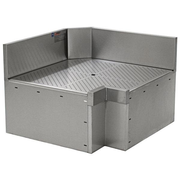 """Eagle Group ICWB-24/30L Spec-Bar 90 Degree Left Full Inner Corner Workboard - 24"""" x 30"""" Main Image 1"""