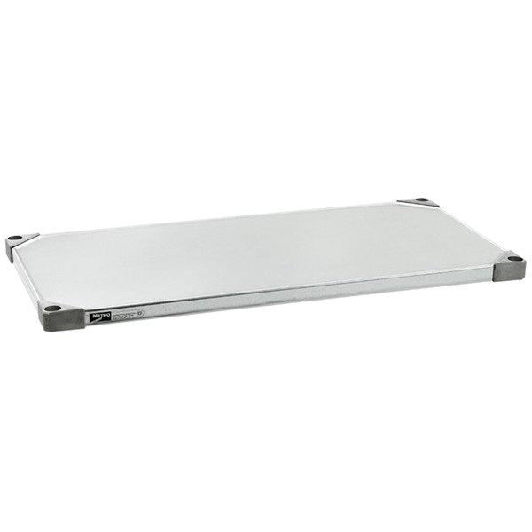 "Metro 1842HFG HD Super Solid Galvanized Steel Flat Shelf - 18"" x 42"""