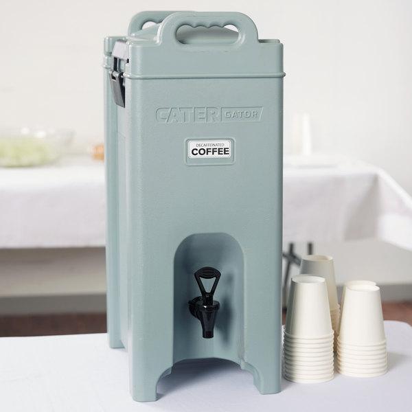 Brand-new CaterGator 5 Gallon Slate Blue Insulated Beverage Dispenser GD64