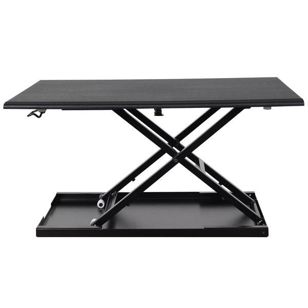 Luxor Lvlup32 Bk Adjustable Stand Up Desktop Desk 31 1 2