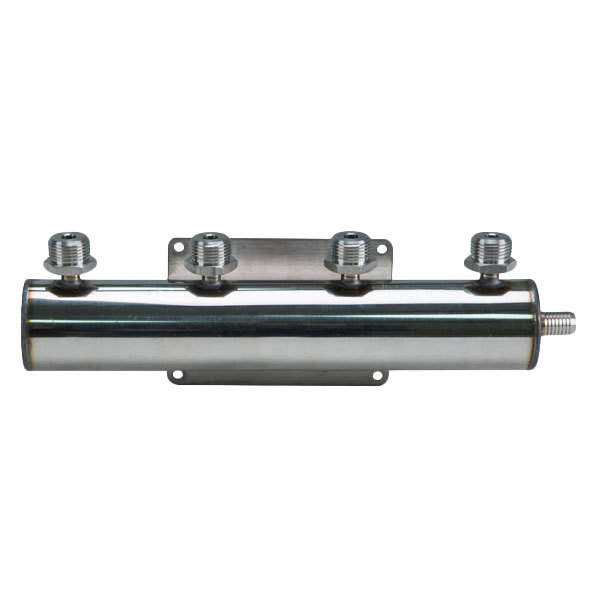 Micro Matic 2841 4-Way Beer Manifold with 1 Barbed Inlet