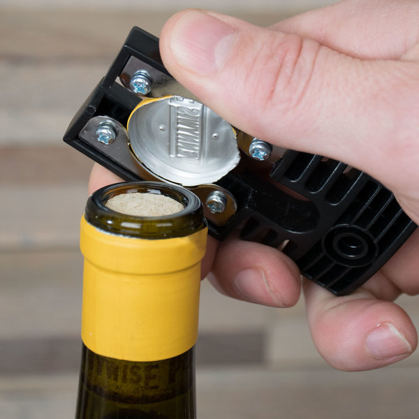 Franmara 1200 Clean-Cut Black Bottle Foil Cutter