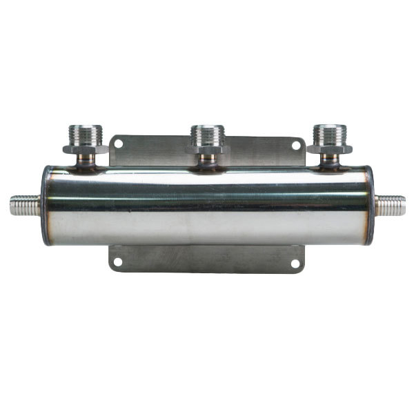 Micro Matic 2840 3-Way Beer Manifold with 2 Barbed Inlets Main Image 1