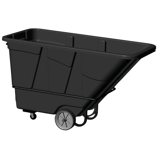 Continental 5852BK 1.5 Cubic Yard Tilt Truck / Trash Cart (2100 lb.)