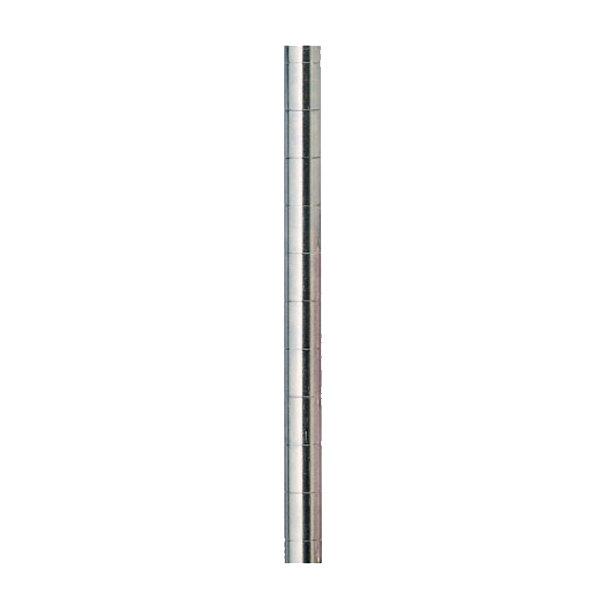 "Metro 63UHPS 62"" Stainless Steel Mobile Shelving Post"