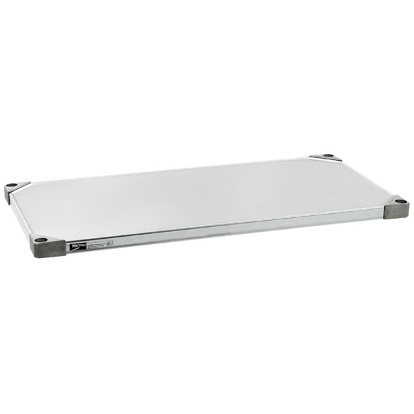 "Metro 1860HFG HD Super Solid Galvanized Steel Flat Shelf - 18"" x 60"""