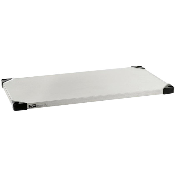 "Metro 2448HFS HD Super Solid Stainless Steel Flat Shelf - 24"" x 48"""