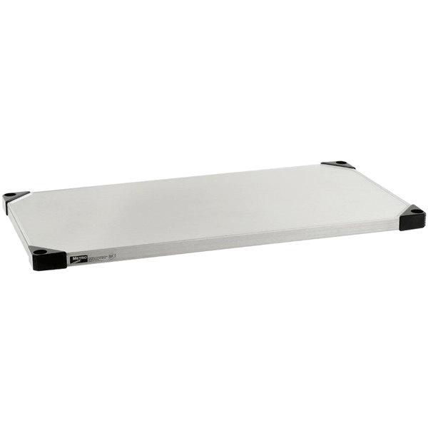 "Metro 2448HFS HD Super Solid Stainless Steel Flat Shelf - 24"" x 48"" Main Image 1"