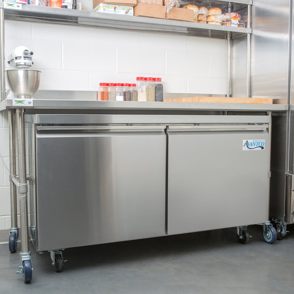 "Avantco SS-UC-60R-HC 60"" Undercounter Refrigerator"