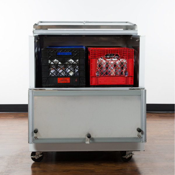 "Avantco MC34-HC 34"" School Milk Cooler Main Image 6"