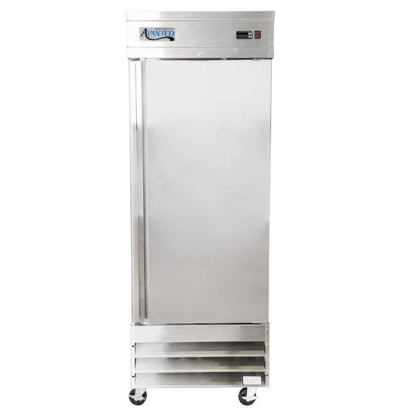 Avantco SS-1F-HC 29 inch Solid Door Reach-In Freezer