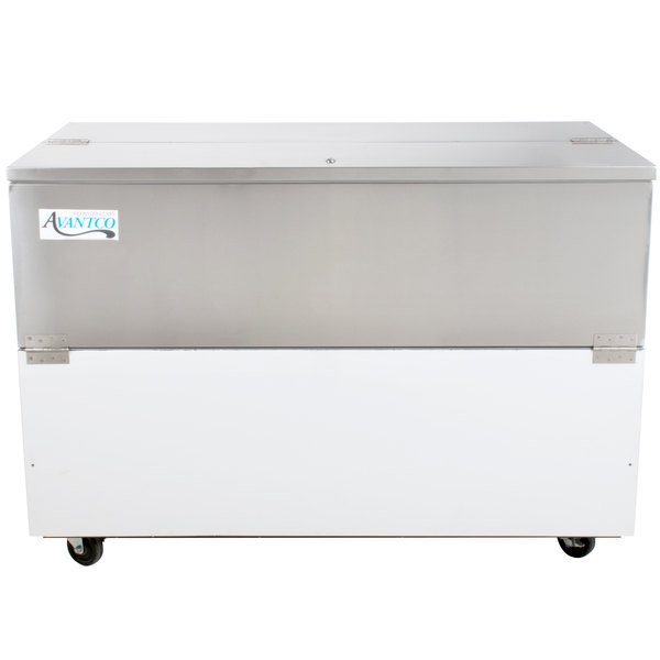 Avantco MC58-HC 58 inch School Milk Cooler