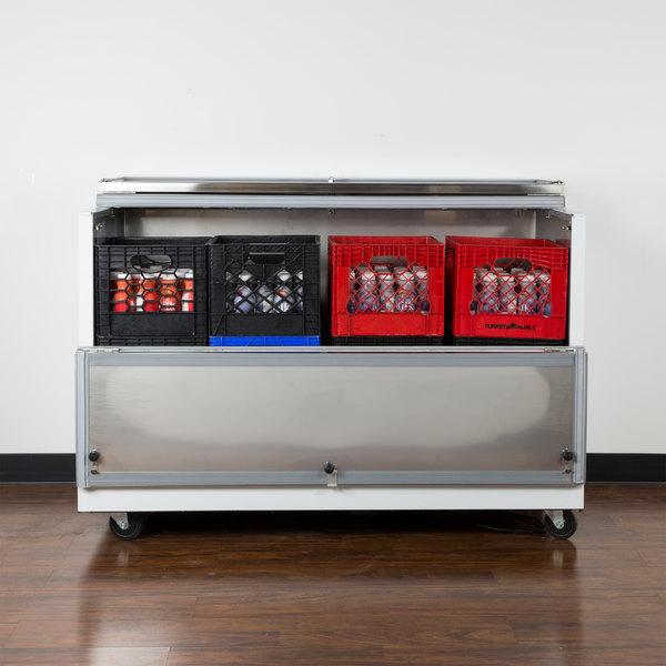 "Avantco MC58-HC 58"" School Milk Cooler Main Image 6"