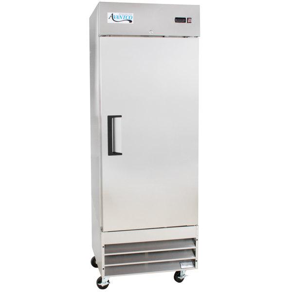 """Avantco A-19R-HC 29"""" Solid Door Reach-In Refrigerator Main Image 1"""