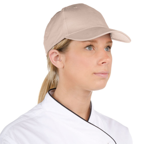 Choice Adjustable Khaki Chef Cap