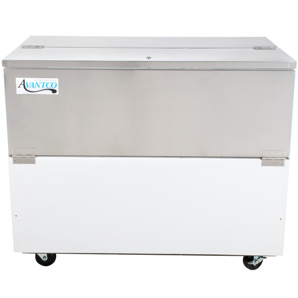 "Avantco MC49-HC 49"" School Milk Cooler Main Image 1"