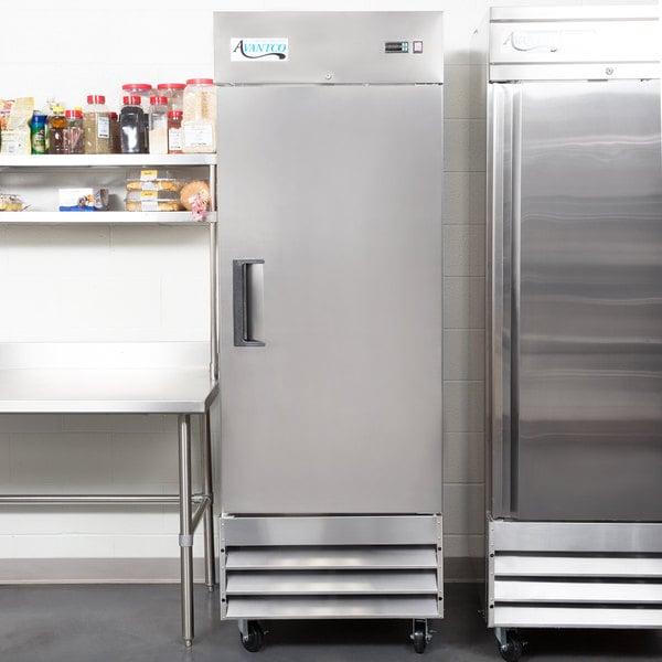 """Avantco A-19F-HC 29"""" Solid Door Reach-In Freezer"""
