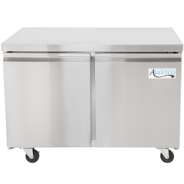 avantco ss uc 48r hc 48 undercounter refrigerator - Commercial Undercounter Refrigerator