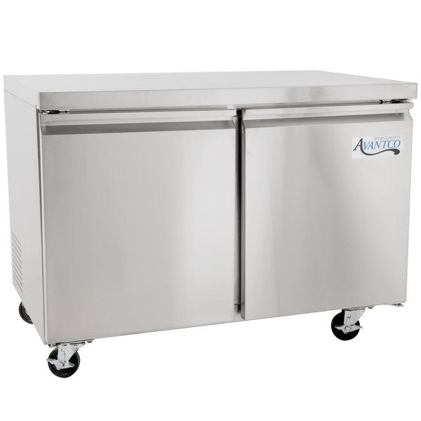 Avantco SS-UC-48R-HC 48 inch Undercounter Refrigerator