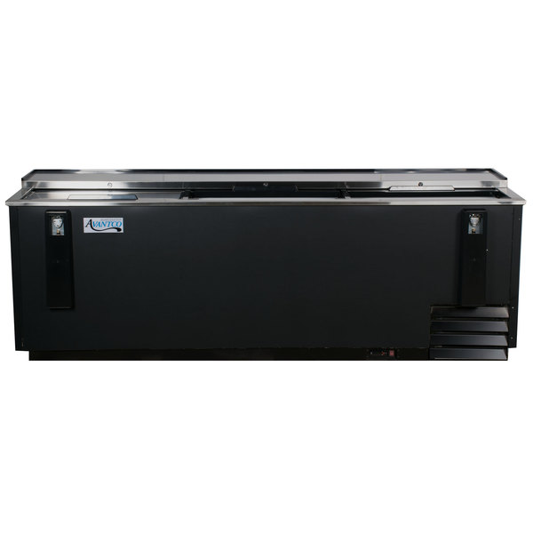 "Avantco HBB-95-HC 95"" Black Horizontal Bottle Cooler"