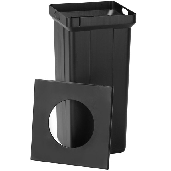Commercial Zone 722201 StoneTec 30 Gallon Square Trash Liner and Lid Set
