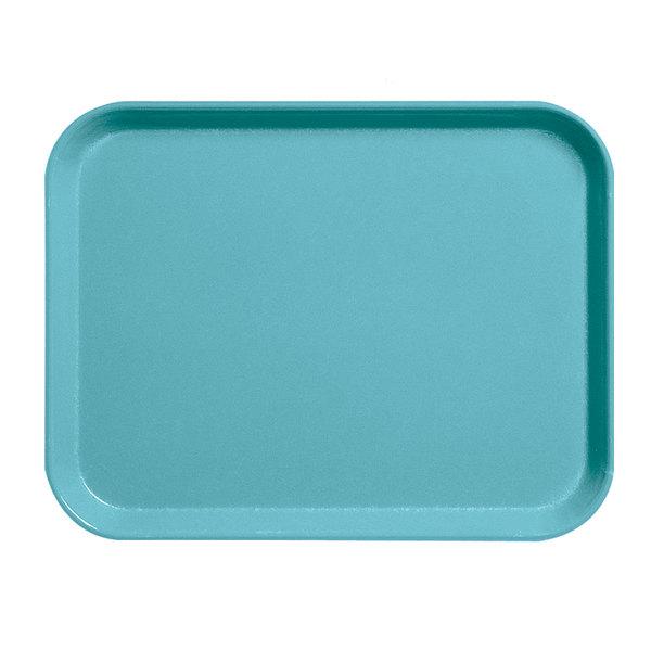"""Cambro 1418CL162 14"""" x 18"""" Green Camlite Tray - 12/Case Main Image 1"""