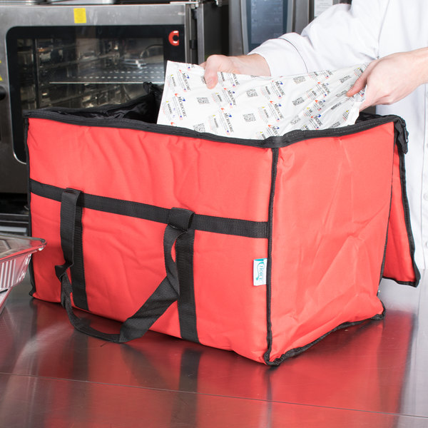 Pk 21u Small Food Delivery Bag Inner Hot Carry Driver