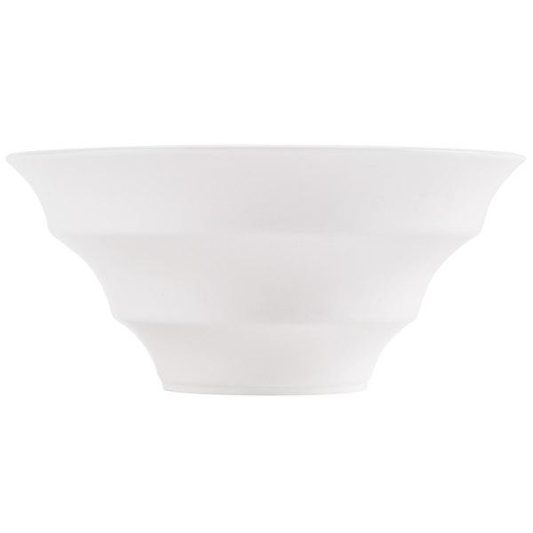 CAC WOB-6 12 oz. Bone White Porcelain Winner Bowl - 36/Case