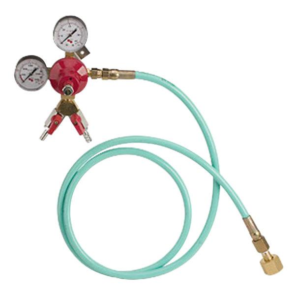 Micro Matic 842WM6-2 Double Gauge Dual Wall Mount Primary CO2 High-Pressure Regulator