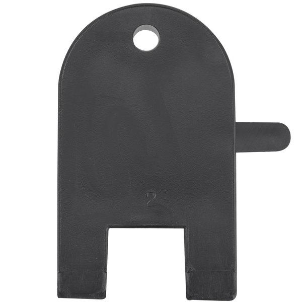 """Lavex 9"""" Double Roll Jumbo Toilet Tissue Dispenser Key"""