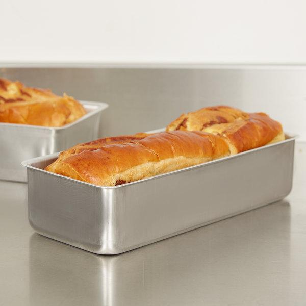 "Vollrath 2773L Wear-Ever Seamless Aluminum Bread Loaf Pan - 11 1/4"" x 4 1/2"" x 2 3/4"""