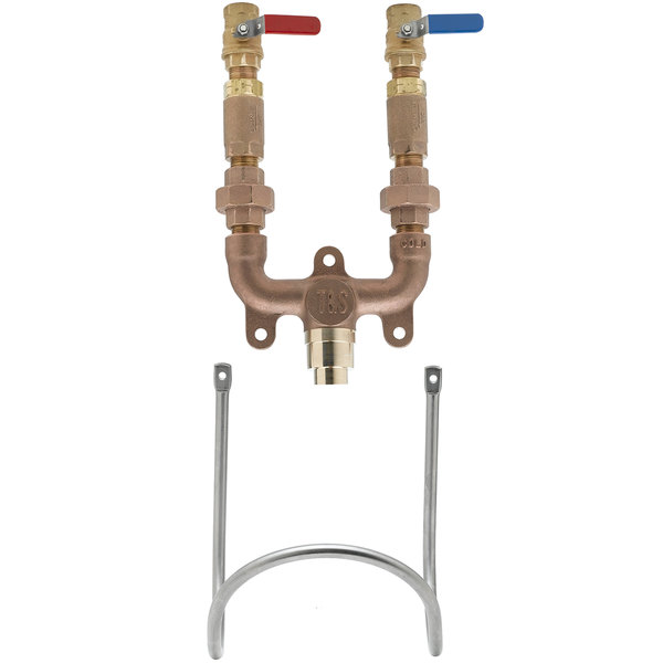 """T&S MV-0771-12N-BV Washdown Station with 3/4"""" NPT Mixing Valve"""