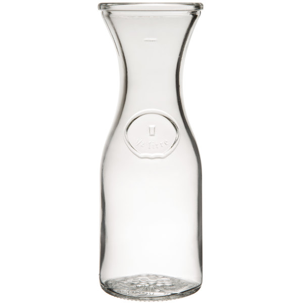 Libbey 97001 17 oz. Glass Wine Decanter - 12/Case