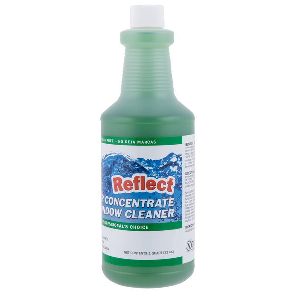 Noble Chemical 1 Qt  / 32 oz  Reflect Super Concentrate Window Cleaner
