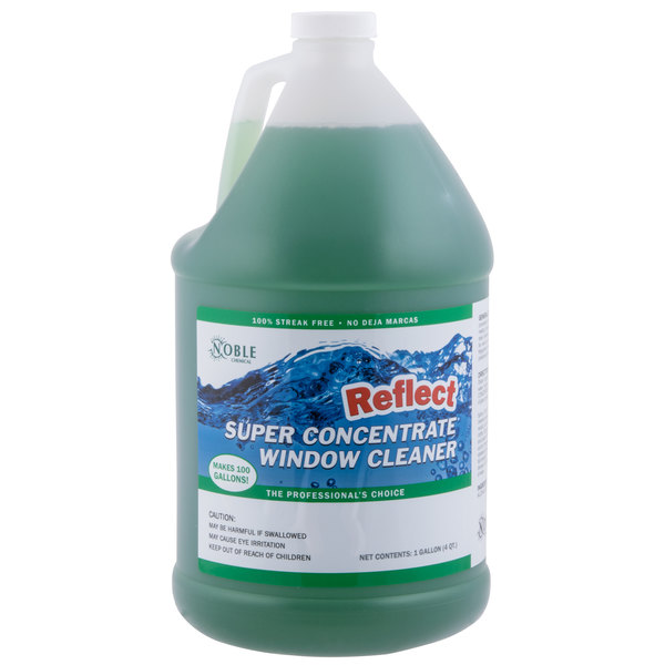 Noble Chemical 1 Gallon Reflect Super Concentrate Window Cleaner