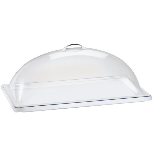 "Cal-Mil 321-10 Classic Clear Dome Display Cover - 10"" x 12"" x 4 1/2"""
