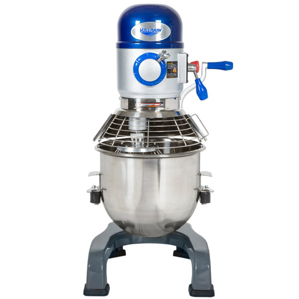 Vollrath 40757 20 Qt. Commercial Planetary Stand Mixer with Guard - 1/2 hp Main Image 1
