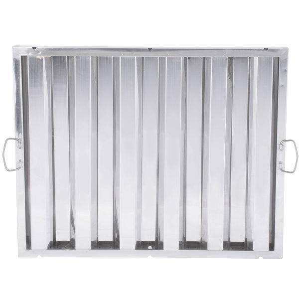 "Regency 20"" x 25"" x 2"" Stainless Steel Hood Filter"
